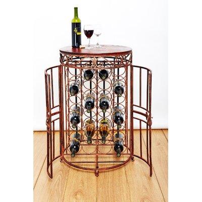 Russian River Jail 24 Bottle Floor Wine Bottle Rack