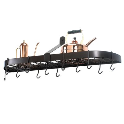 Old Dutch Wall Pot Rack w/ 12 Hooks - Finish: Oiled Bronze at Sears.com