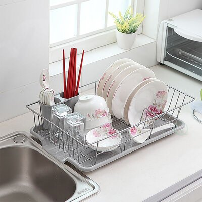 Stainless Steel Dish Rack Plate
