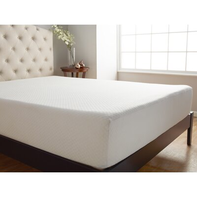 "Comfort Tech 10"" Medium Memory Foam Mattress"