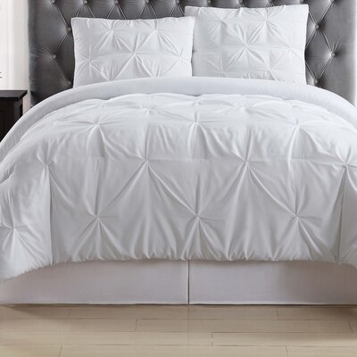 Bolivar Duvet Set Color: White, Size: King