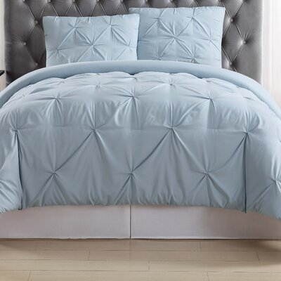 Bolivar Duvet Set Color: Light Blue, Size: Twin XL