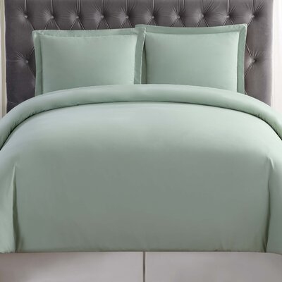 Elettra Duvet Set Size: King, Color: Sage