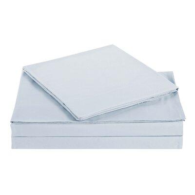 Kelly Kids Solid Sheet Set Color: Sliver Gray, Size: Full