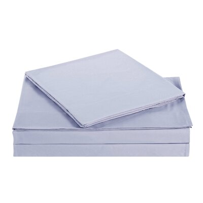 Kelly Kids Solid Sheet Set Color: Lavender, Size: Full