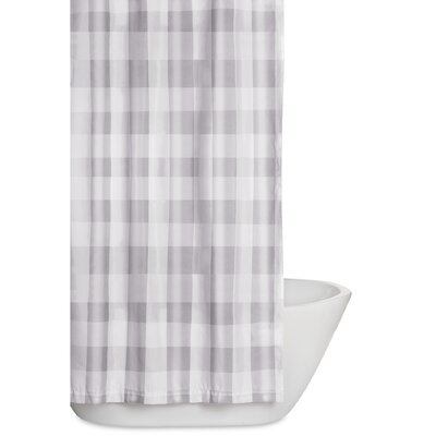 Cathryn Shower Curtain Color: Gray