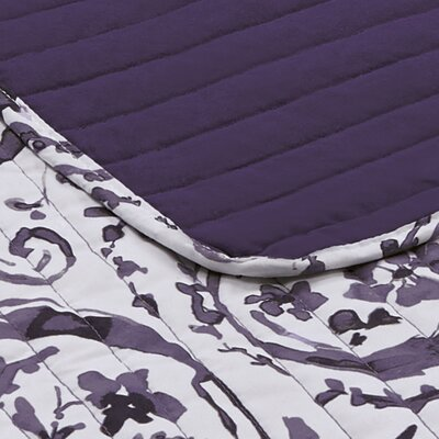 Foreside Paisley Watercolor Quilt Set