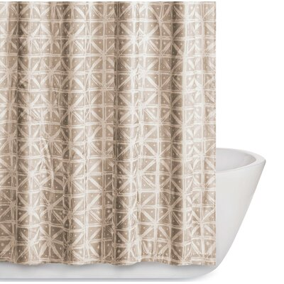 Orizaba Shower Curtain Color: Golden Ivory