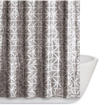 Orizaba Shower Curtain Color: Gray