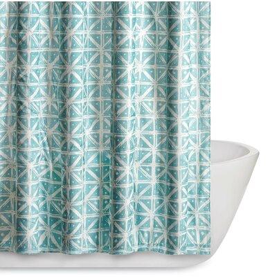 Orizaba Shower Curtain Color: Teal