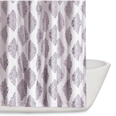 Trevon Shower Curtain Color: Orchid