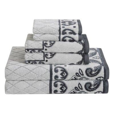 Dolce Vita 6 Piece Towel Set