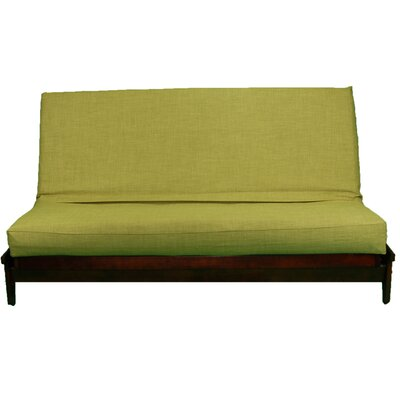 Medley Box Cushion Futon Slipcover Size: Queen, Upholstery: Parrot