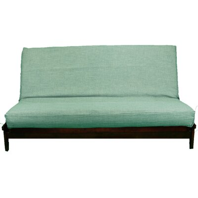 Medley Box Cushion Futon Slipcover Size: Full, Upholstery: Bluebird