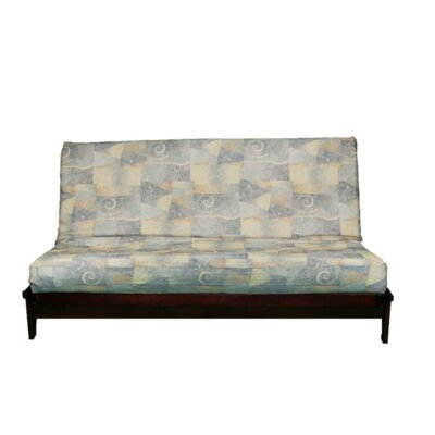 Thompkins Heavy Texture Box Cushion Futon Slipcover Upholstery: 207