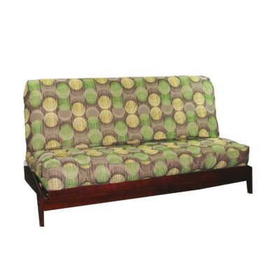 Thompkins Heavy Texture Box Cushion Futon Slipcover Upholstery: S2