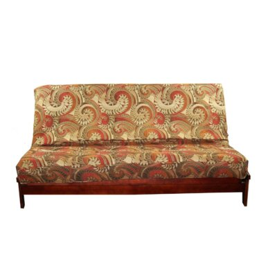 Thompkins Heavy Texture Box Cushion Futon Slipcover Upholstery: S3