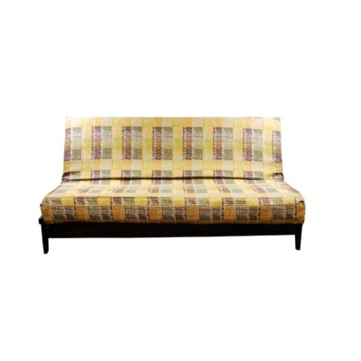 Thompkins Heavy Texture Box Cushion Futon Slipcover Upholstery: S4