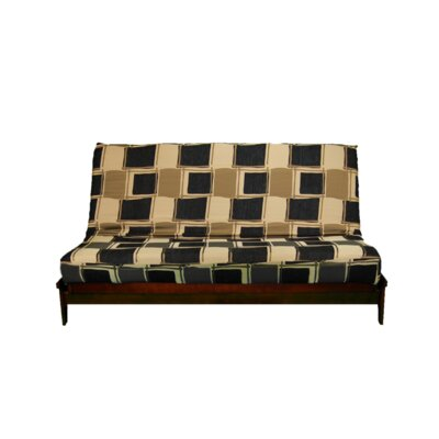 Thompkins Heavy Texture Box Cushion Futon Slipcover Upholstery: Y6