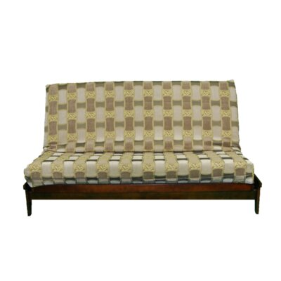 Thompkins Heavy Texture Box Cushion Futon Slipcover Upholstery: Y13