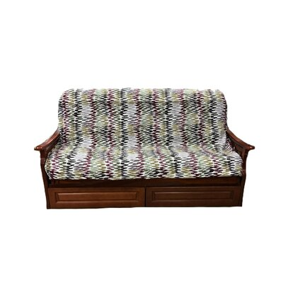 Ove Heavy Texture Box Cushion Futon Slipcover Upholstery: Y16