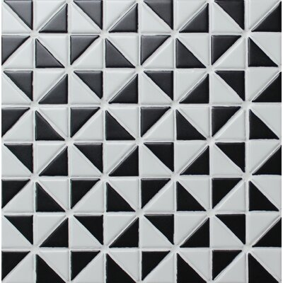 Multi Windmill Series 1.58 x 1.16 Porcelain Mosaic Tile in Matte