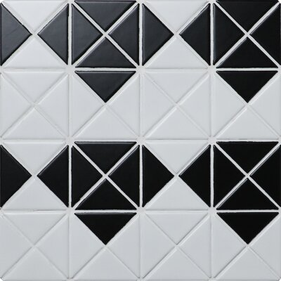 Multi Diamond Series 2.33 x 1.66 Porcelain Mosaic Tile in Matte