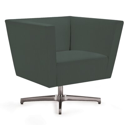 Toronto Armchair Seat Color: Onyx Canter