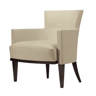 Gotham Canter Lounge Chair Upholstery: Baltic, Finish: Macassar