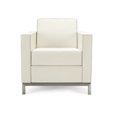 Grand Island Lounge Chair Seat Color: Ivory Solace