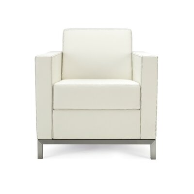 Grand Island Lounge Chair Seat Color: Summer White Canter