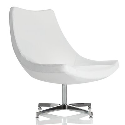 Chip Lounge Chair Upholstery: Summer White Canter