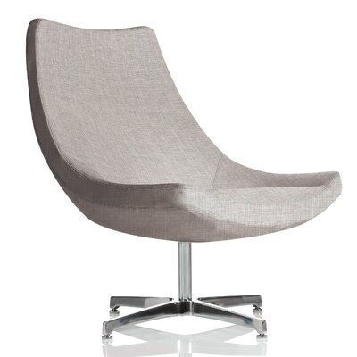 Chip Lounge Chair Upholstery: Platinum Cover Cloth
