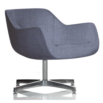 Madmen Lounge Chair Upholstery: Graphite Cover Cloth