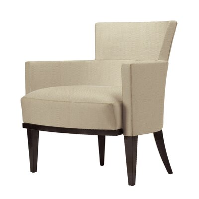 Gotham Cover Cloth Lounge Chair Finish: Medium Cherry