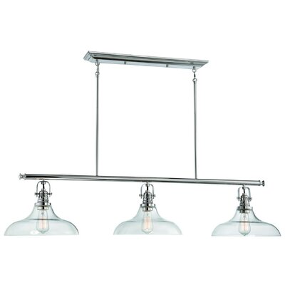 Leith 3-Light Kitchen Island Pendant