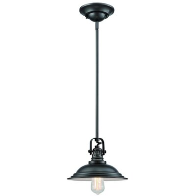 The Bowery 1-Light Mini Pendant Finish: Polished Nickel