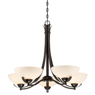 Bordeau 5-Light Shaded Chandelier