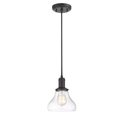Boylston 1-Light Mini Pendant Finish: Boylston Burnished