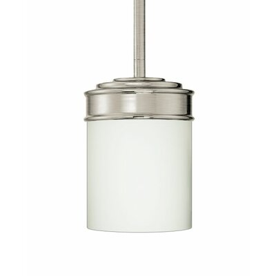 Abbey 1-Light Mini Pendant Finish: Brushed Nickel
