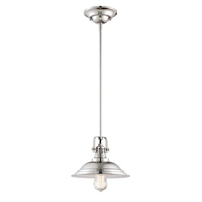 Waldrup 1-Light Mini Pendant Finish: Burnished Bronze