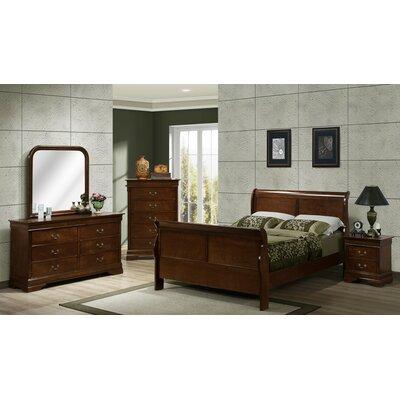 Renaissance Sleigh Customizable Bedroom Set