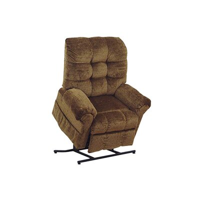 Plush Power Lift Assist Recliner Upholstery: Wheat