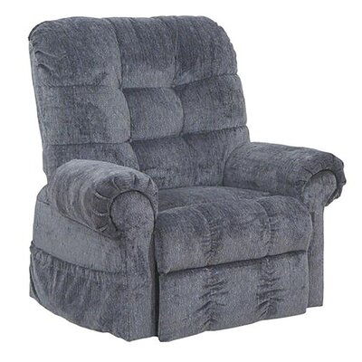 Plush Large Lift Chair Upholstery: Black Pearl