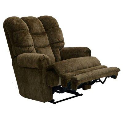 Plush Recliner Upholstery: Basil