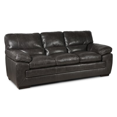 Extra Plush Sofa Upholstery: Charcoal