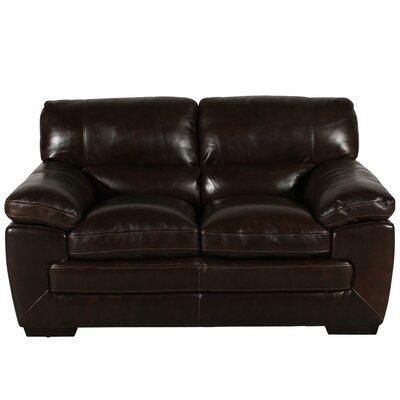 Loveseat Upholstery: Black Oak