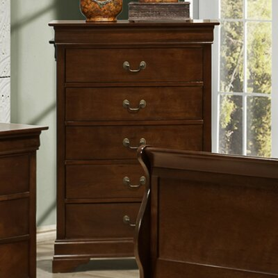 Renaissance 5 Drawer Chest