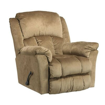 Manual Swivel Glider Recliner Upholstery: Mocha