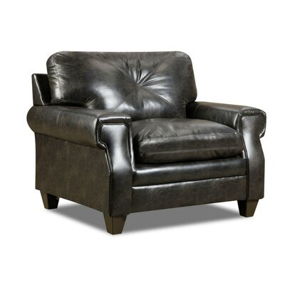 Tufted Back Club Chair